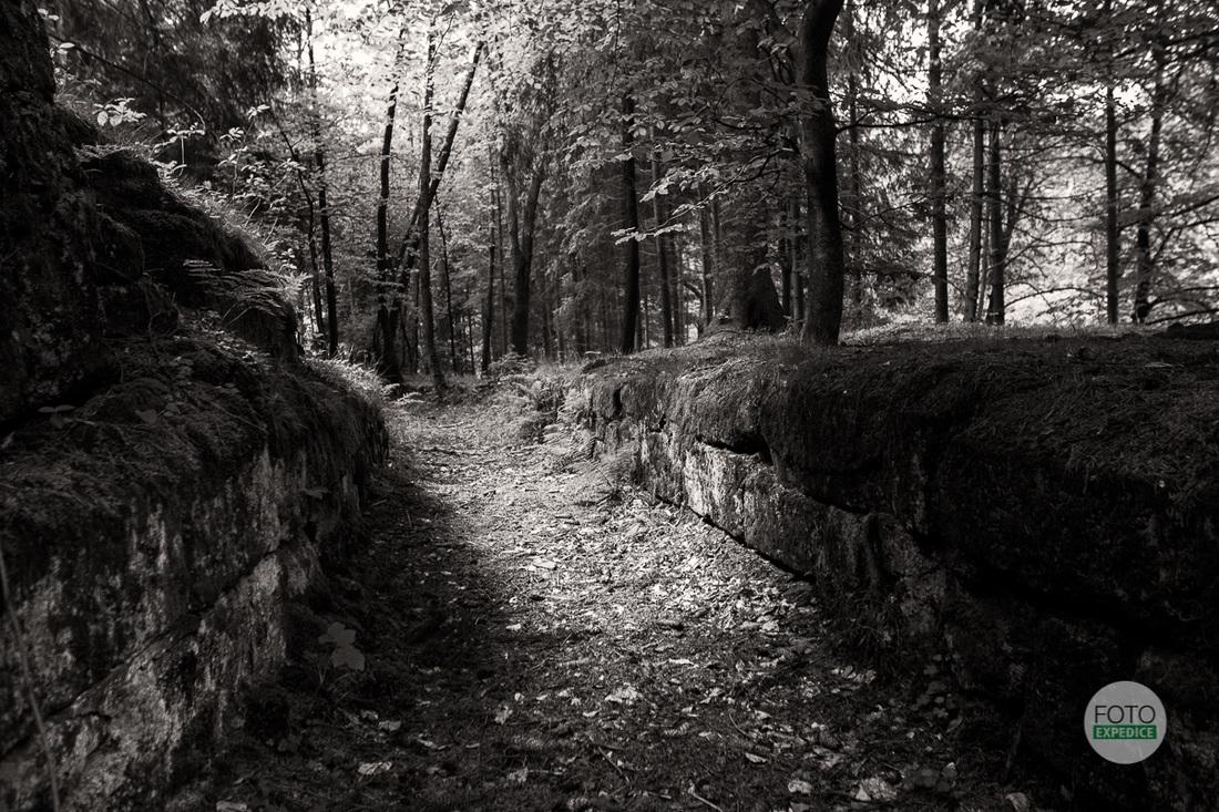 Akvadukt Chřibská fotoexpedice Českosaské Švýcarsko