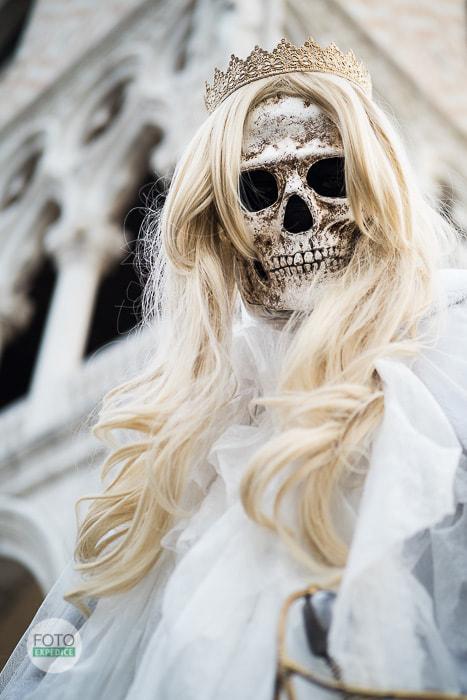 Fotoexpedice Benátský karneval fotografování masek Martin Kamín
