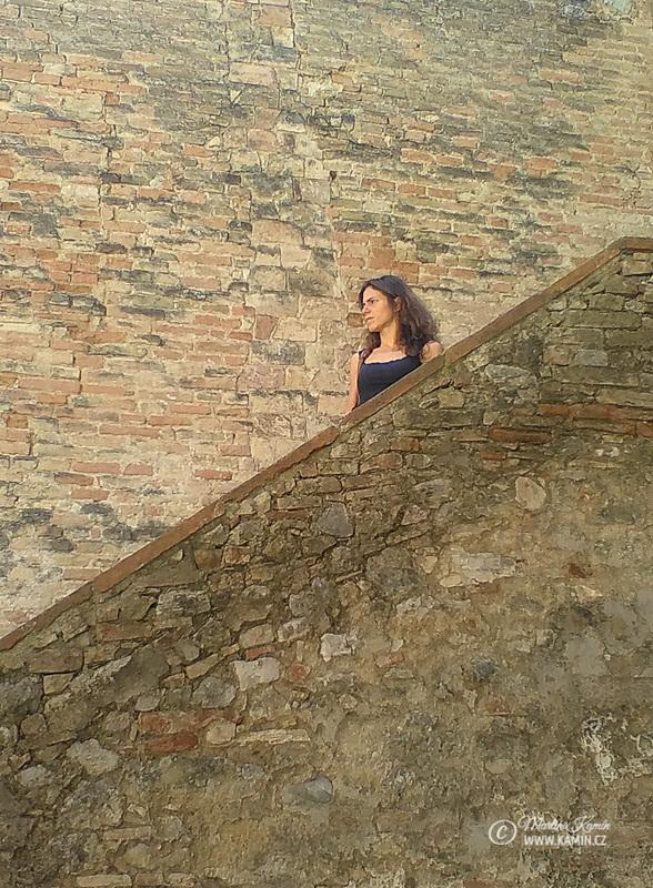 San Gimignano fotoexpedice Toskánsko 2016