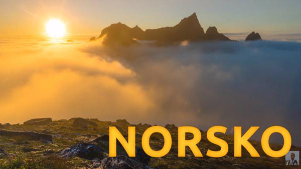 Časosběrné video z Norska Lofoty