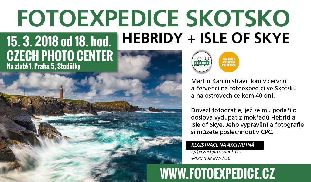 Fotoexpedice Skotsko, Hebridy a Isle of Skye Martin Kamín