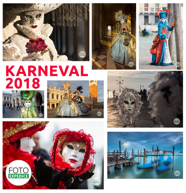 Každý rok jezdíme na fotoexpedice Benátský karneval fotografovat