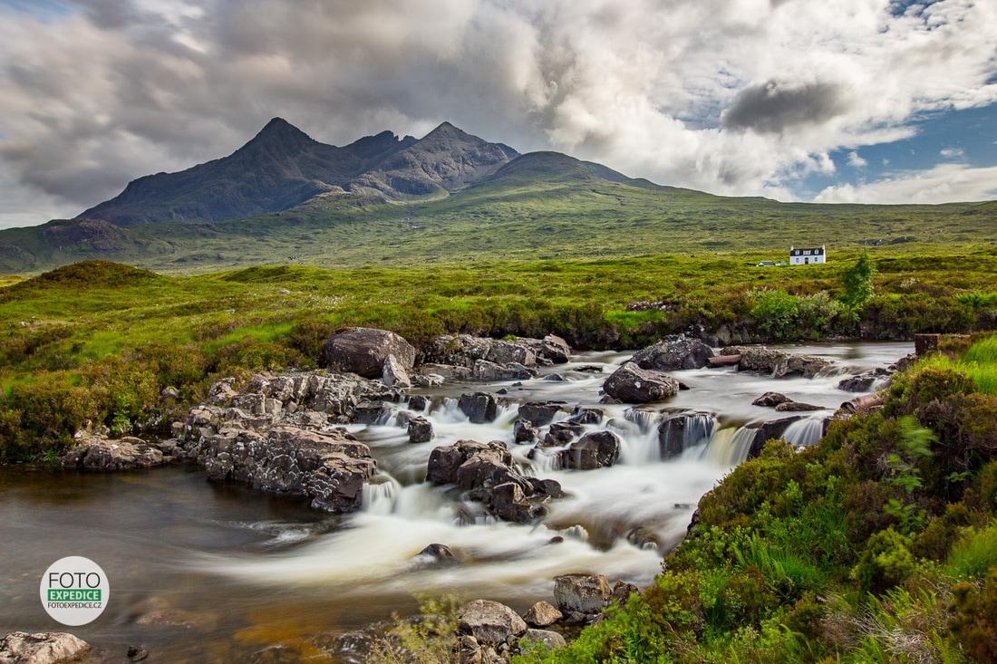 Fotoexpedice Skotsko, Sligachan, Black Cuillin, Isle of Skye